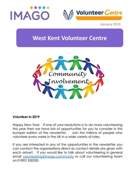 Volunteering Newsletter January 2019