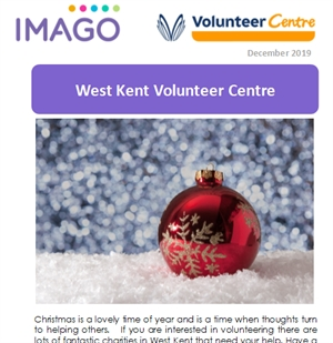 Volunteering Newsletter December 2019