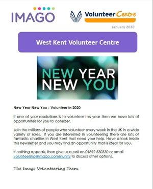 Volunteering Newsletter January 2020