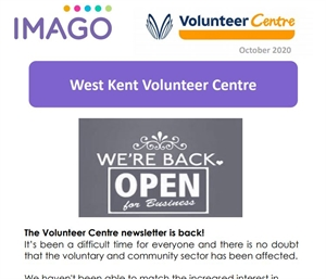 Volunteering Newsletter October 2020
